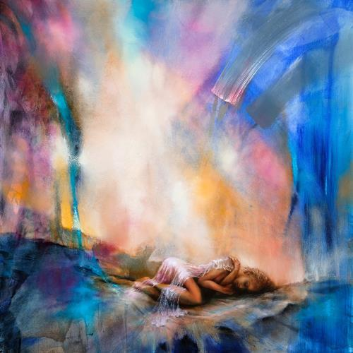 Annette Schmucker, Sunday, People, People: Women, Contemporary Art, Expressionism