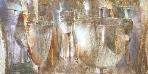 Annette Schmucker, Lichtspiel, Still life, Meal, Neo-Impressionism, Expressionism