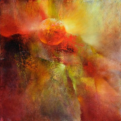 Annette Schmucker, Floating, Abstract art, Abstract art, Contemporary Art, Expressionism