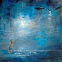Annette-Schmucker-People-Children-Animals-Air-Modern-Age-Expressionism-Neo-Expressionism