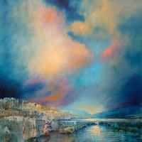 Annette-Schmucker-Landscapes-Sea-Ocean-Landscapes-Plains-Modern-Age-Impressionism-Neo-Impressionism