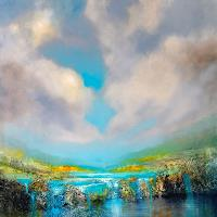 Annette-Schmucker-Landscapes-Mountains-Landscapes-Sea-Ocean-Contemporary-Art-Contemporary-Art