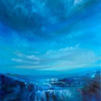 Annette-Schmucker-Landscapes-Landscapes-Mountains-Modern-Age-Abstract-Art