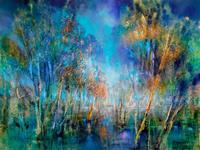 Annette-Schmucker-Plants-Trees-Landscapes-Autumn-Contemporary-Art-Contemporary-Art