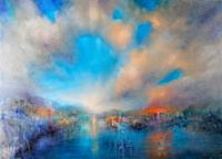 Annette-Schmucker-Landscapes-Mountains-Landscapes-Beaches-Contemporary-Art-Contemporary-Art