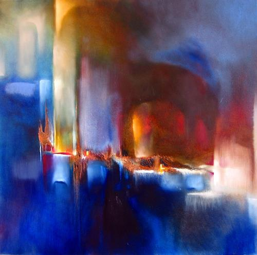 Annette Schmucker, Zwei Welten, Abstract art, Contemporary Art, Expressionism