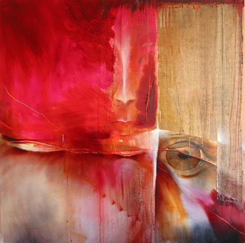 Annette Schmucker, Karla, Abstract art, People: Women, Contemporary Art, Expressionism
