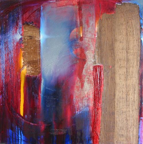 Annette Schmucker, Collage III, Abstract art, Contemporary Art