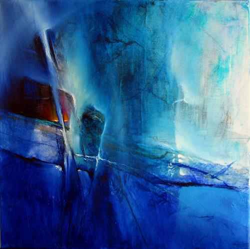 Annette Schmucker, Smaragd, Abstract art, Contemporary Art