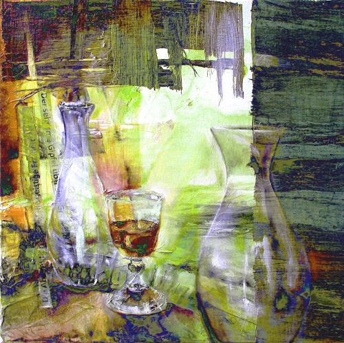 Annette Schmucker, Stillleben, Still life, Contemporary Art, Abstract Expressionism