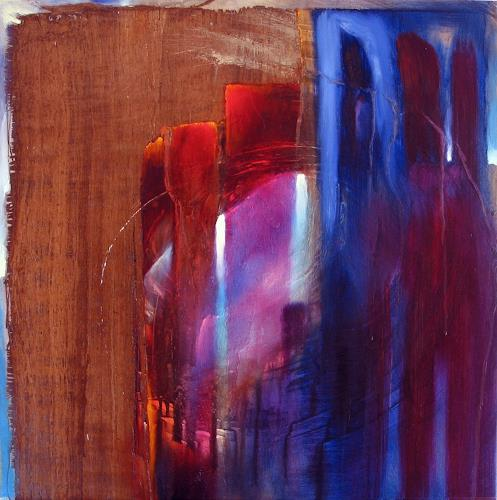 Annette Schmucker, Collage IV, Abstract art, Contemporary Art, Expressionism