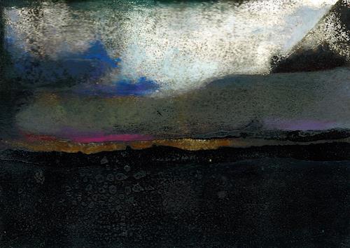 Renu G., Dreamworld 1, Abstract art, Landscapes: Plains, Contemporary Art