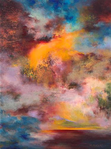 Rikka AYASAKI, Passions 7010, Fantasy, Abstract art, Contemporary Art, Expressionism