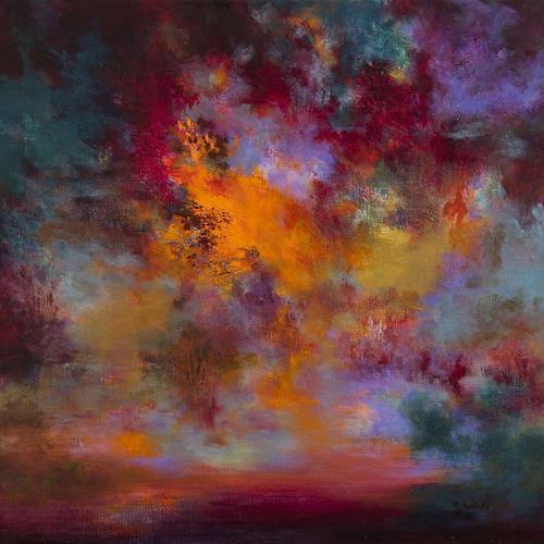 Rikka AYASAKI, Passions 7045, Fantasy, Emotions, Abstract Art, Expressionism