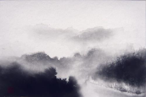 Rikka AYASAKI, Haze, Landscapes, Nature, Symbolism, Expressionism