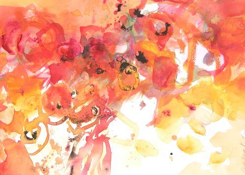Christina Kläfiger, Orangenduft, Still life, Emotions: Joy