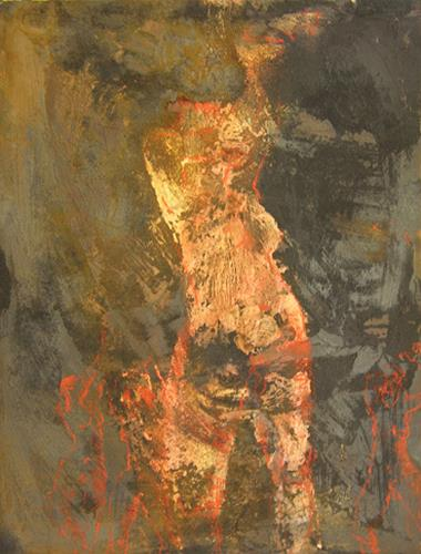 Christina Kläfiger, Dance, Erotic motifs: Female nudes, Poetry, Contemporary Art