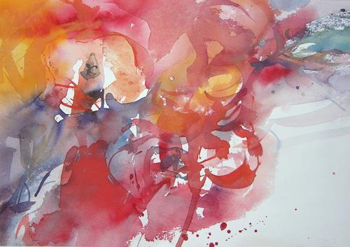 Christina Kläfiger, Intense, Plants: Flowers, Contemporary Art