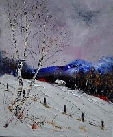 pol ledent 1 Art Landscapes: Winter Contemporary Art Neo Expressionism