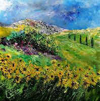 pol ledent 1 Art Landscapes: Summer Nature: Miscellaneous Modern Age Impressionism