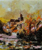 pol ledent 1 Art Landscapes: Autumn Nature: Miscellaneous Modern Age Impressionism