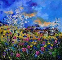 pol-ledent-1-Landscapes-Summer-Miscellaneous-Landscapes-Modern-Age-Impressionism