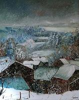 pol ledent 1 Art Landscapes: Winter Miscellaneous Modern Age Impressionism