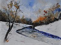p. ledent, Winter landscape 6841