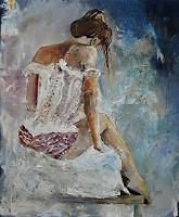 pol-ledent-1-Erotic-motifs-Female-nudes-Miscellaneous-Romantic-motifs-Modern-Age-Impressionism-Neo-Impressionism