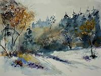 pol-ledent-1-Landscapes-Autumn-Nature-Miscellaneous-Modern-Age-Impressionism-Neo-Impressionism
