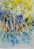 pol ledent 1 Art Landscapes: Autumn Nature: Wood Contemporary Art