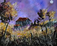 pol ledent 1 Art The world of work Nature: Wood Modern Age Impressionism