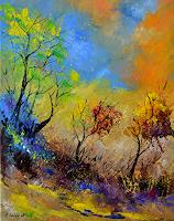 pol-ledent-1-Landscapes-Landscapes-Autumn-Contemporary-Art-Contemporary-Art
