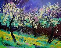 pol-ledent-1-Landscapes-Landscapes-Spring-Modern-Age-Impressionism-Neo-Impressionism