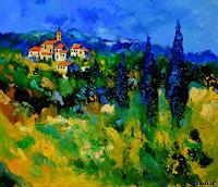 pol-ledent-1-Landscapes-Landscapes-Summer-Modern-Age-Expressionism