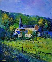 pol-ledent-1-Landscapes-Landscapes-Spring-Modern-Age-Impressionism-Post-Impressionism