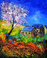 pol-ledent-1-Nature-Landscapes-Modern-Age-Impressionism-Neo-Impressionism