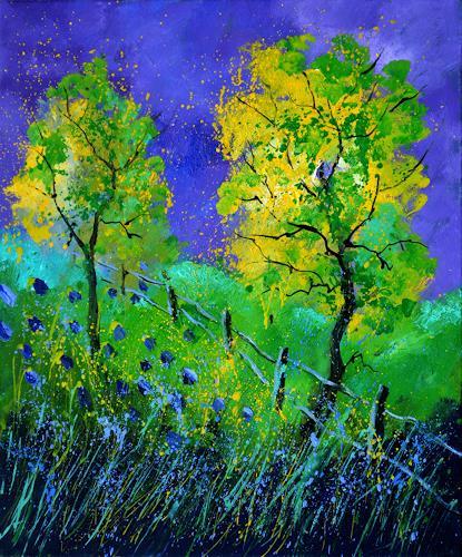 pol ledent, Summer 566111, Landscapes, Landscapes: Summer, Post-Impressionism