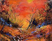 pol-ledent-1-Landscapes-Autumn-Modern-Age-Expressionism-Fauvismus