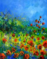 pol ledent, Poppies