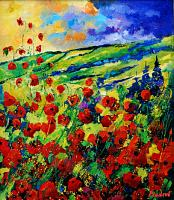 p. ledent, poppies 78