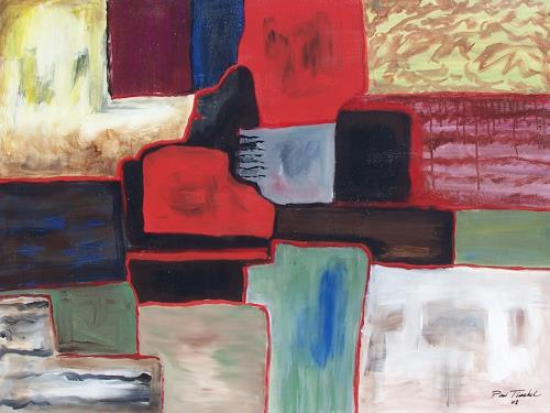 Paul Timshel, Coloful Squares, Abstract art, Leisure, Contemporary Art