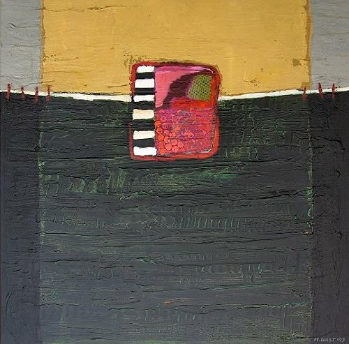 Maria Gust, behaust, Abstract art, Emotions: Safety, Contemporary Art, Abstract Expressionism