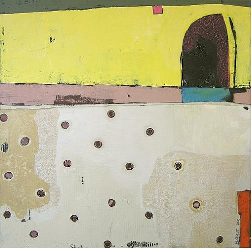 Maria Gust, Durchgang, Abstract art, Miscellaneous Buildings, Contemporary Art, Expressionism
