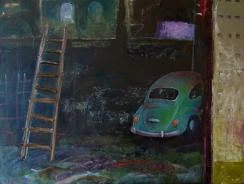 Maria Gust, Schätzchen, Interiors, Contemporary Art, Abstract Expressionism
