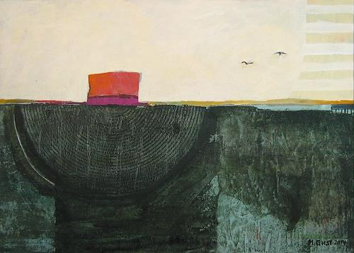 Maria Gust, Zufluchtsort, Landscapes: Sea/Ocean, Contemporary Art