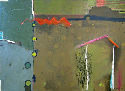 Maria Gust, zentrumsnah, Landscapes, Abstract art, Contemporary Art, Abstract Expressionism