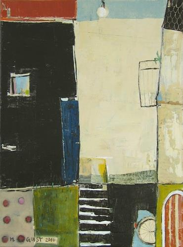 Maria Gust, Ei-Borger, Abstract art, Architecture, Contemporary Art, Expressionism