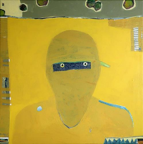 Maria Gust, Ja, was nun?, Miscellaneous People, Emotions: Fear, Contemporary Art, Abstract Expressionism
