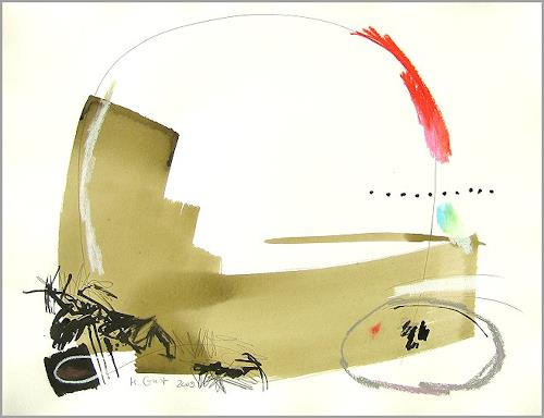 Maria Gust, o.T.5-24.April2009, Abstract art, Movement, Contemporary Art, Expressionism
